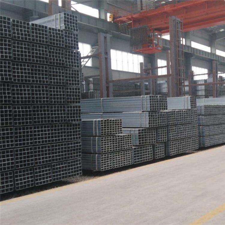 現貨供應鍍鋅方管 鍍鋅方通 空心方40方50方等規格齊全示例圖8