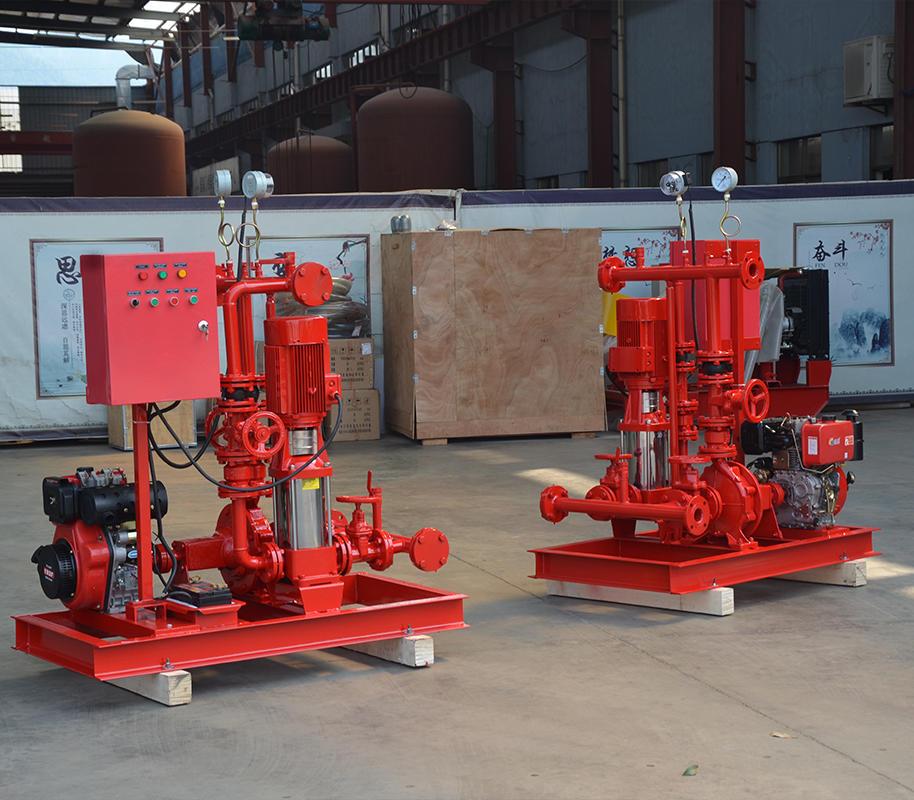 上海<strong>喜之泉专业生产销售DJ双动力消防泵</strong>,柴油机消防泵组,小型双动力消防泵,消防泵示例图4