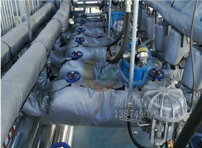 泵体保温套 屏蔽泵保温衣 离心泵保温套 高温泵保温衣 可拆卸式耐高温隔热罩|示例图1