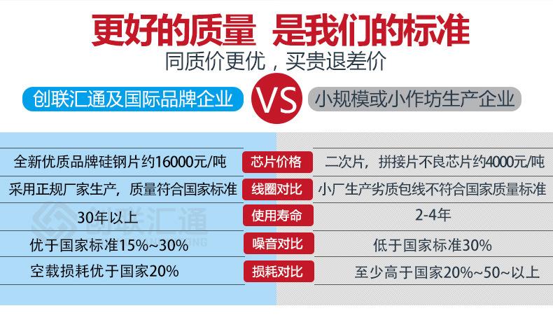 干式非晶合金变压器 SCBH15变压器  低损耗 厂家直销拒绝中间差价-创联汇通示例图7