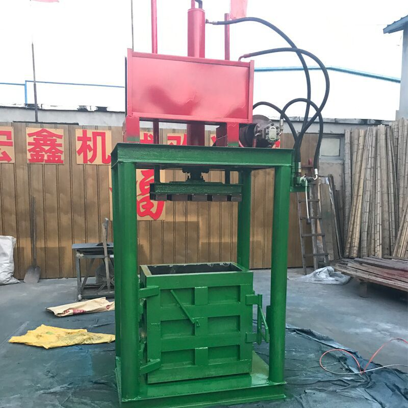 废纸专用液压打包机 60吨油漆桶压扁机厂家 200L油漆桶压扁机示例图22
