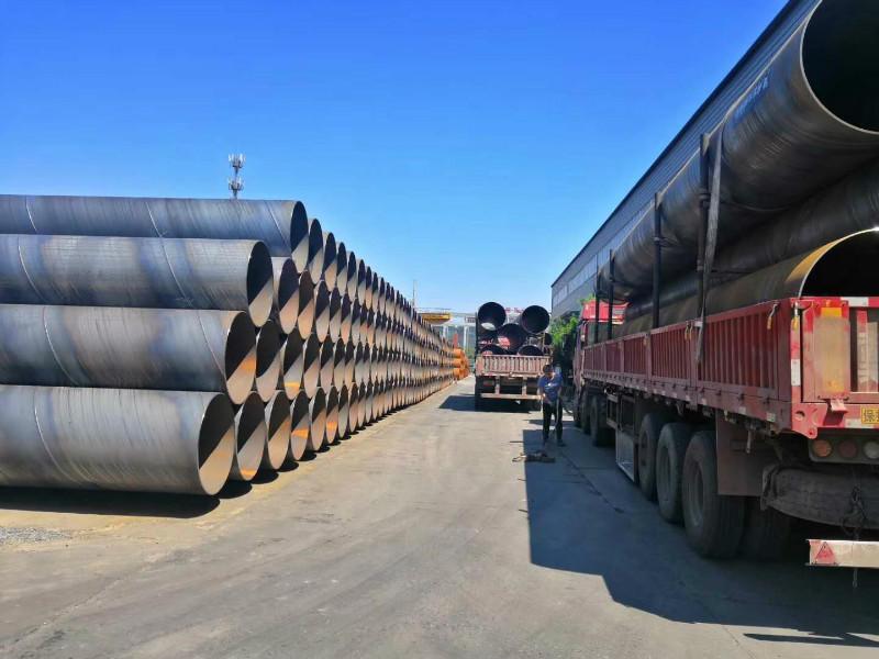 《14年工厂》防腐螺旋钢管 国标螺旋钢管 石油部标准螺旋钢管 国标螺旋钢管价格 GB/T9711螺旋钢管生产厂家示例图2