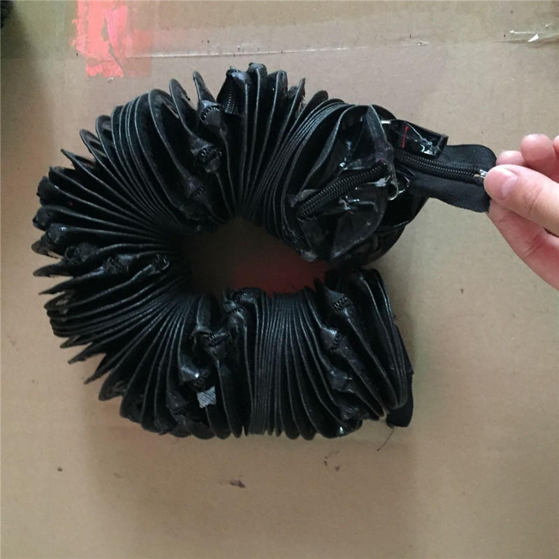 昊旭牌软连接防护罩   风琴式防护罩 江苏机床防护罩  导轨机床防护罩  软连接厂家示例图16