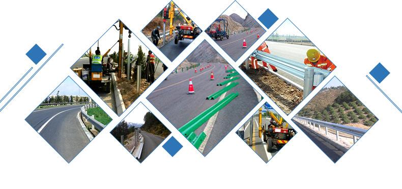 波形喷塑高速公路防撞护栏板 高速护栏 喷塑护栏波形  镀锌护栏板示例图16