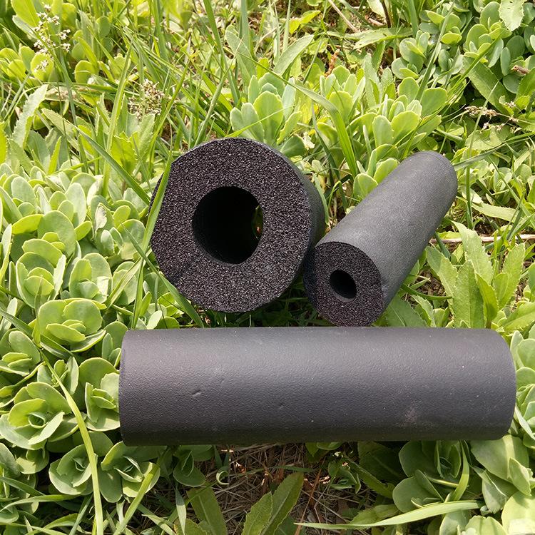 厂家直销彩色橡塑管保温材料耐高温隔热建材高密度橡塑保温管示例图12