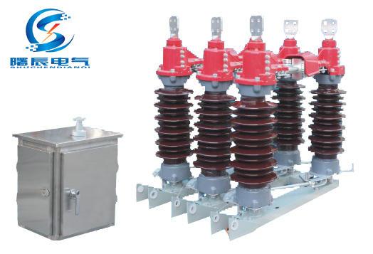 户外35KV高压隔离开关 电站GW4-40.5水平式高压隔离开关示例图4
