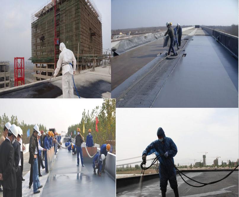 纤维增强型桥面粘结防水涂料 生产基地 全国供应示例图7