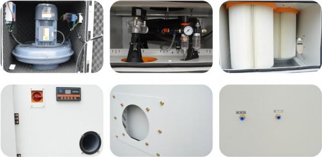 磨床粉尘吸尘器 磨床除尘器 磨床吸尘器 金属粉尘吸尘器示例图36