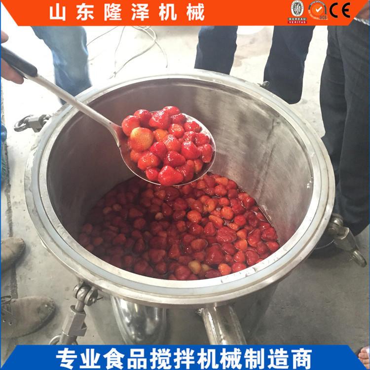 316不锈钢浸糖锅 梅子浸糖设备 广东果脯蜜饯生产机器价格示例图2