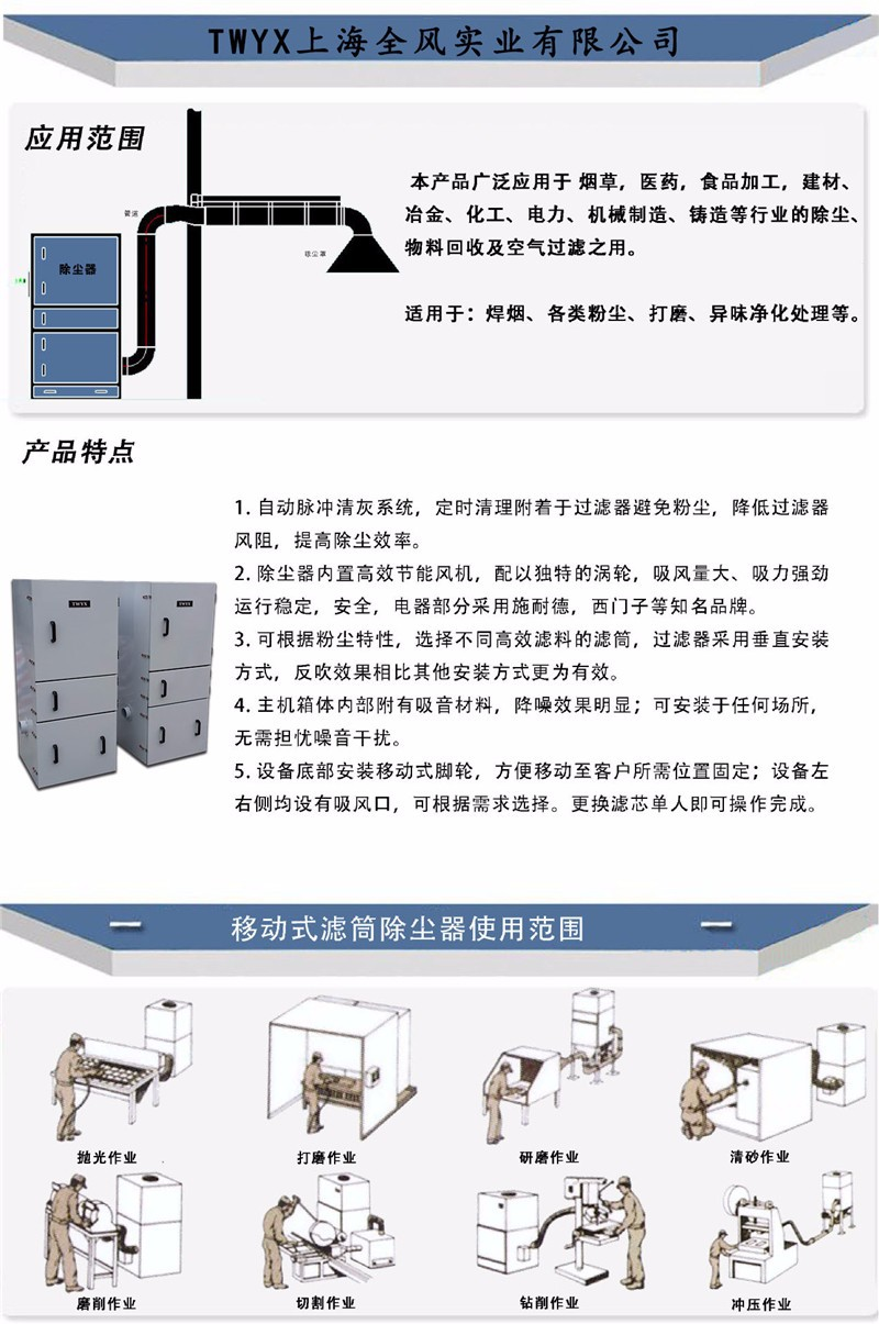 粉塵打磨吸塵器,粉塵打磨除塵器,粉塵打磨收集器示例圖13