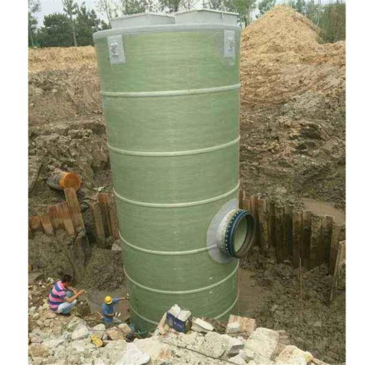 四川一体化泵站 一体化提升泵站 一体化雨水泵站 一体化污水泵站示例图6
