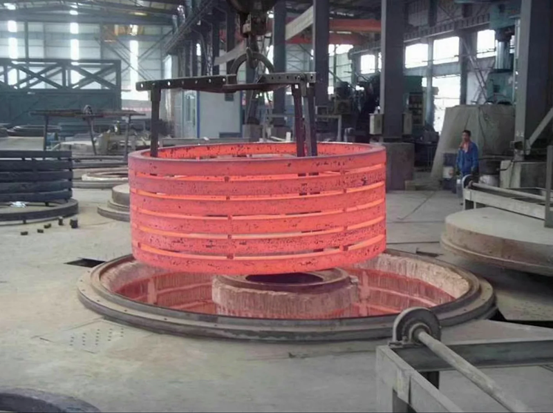 铁线退火炉 高温井式炉 井式电阻炉 燃气式井式线材退火炉示例图2