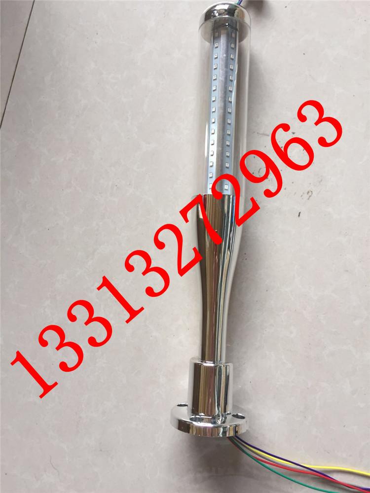 LED三色灯24V LED警示灯 三色指示灯 机床多层信号灯 可蜂鸣常亮示例图5