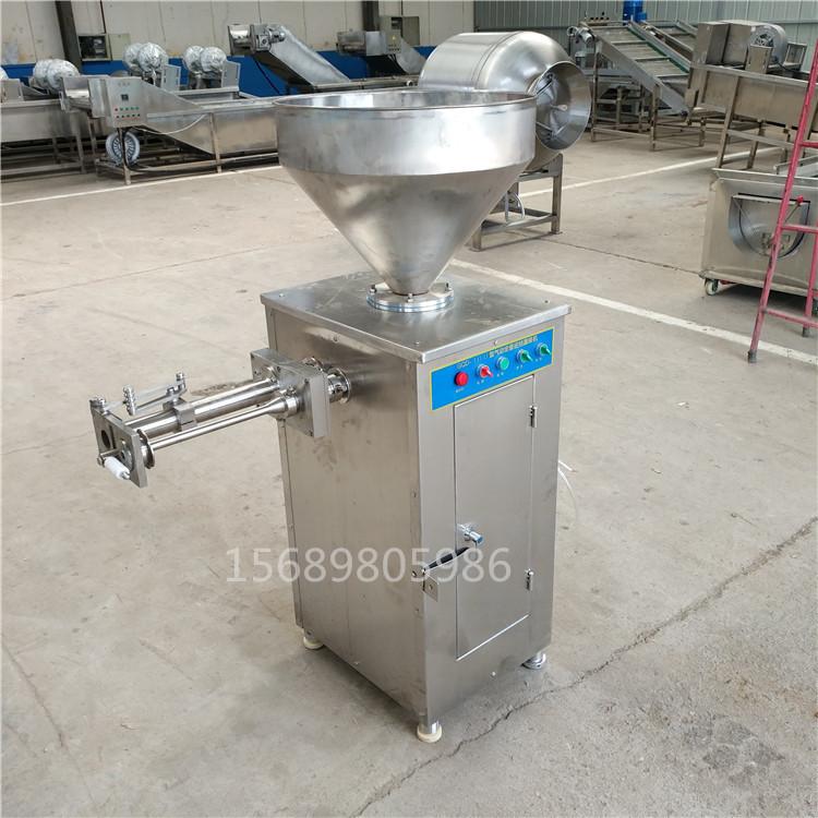 哈尔滨红肠灌肠机 加工灌肠机肉肠灌肠机 可定制食品级304设备示例图7