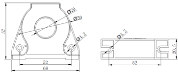 安科瑞霍尔开口式开环电流传感器示例图7
