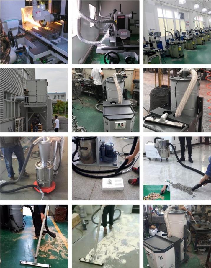 MCJC-7500脉冲集尘机 工业布袋集尘机  铁屑废渣集尘机 工业吸尘器  粉尘吸尘器 工业集尘机示例图6