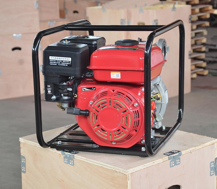 上海喜之泉红色双动力消防泵,手抬式消防泵,移动消防泵,小型消防泵示例图1