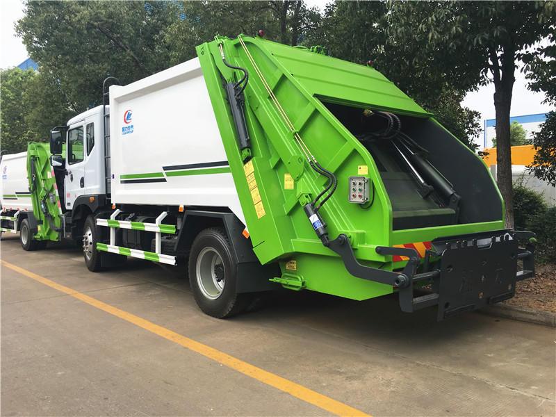 东风多利卡8方压缩式垃圾车,垃圾清运车,垃圾挤压清运车,厂家直销,大量现货,超低价格示例图5