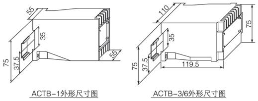 安科瑞ACTB系列电流互感器过电压保护器示例图3