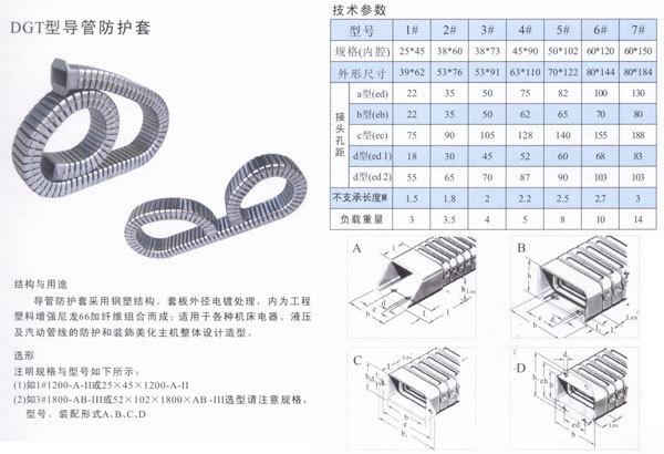 厂家直销大量供应导管防护罩 穿线导管防护套 低噪音DGT型导管保护套示例图1