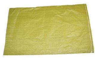 黄色编织袋厂特价80斤粮食袋普黄色蛇皮袋中厚结实塑料编织袋批发示例图3