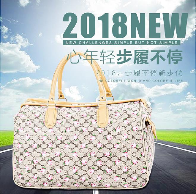 短途輕便旅行包折疊行李袋手提旅行袋行李包大容量旅游包健身批發