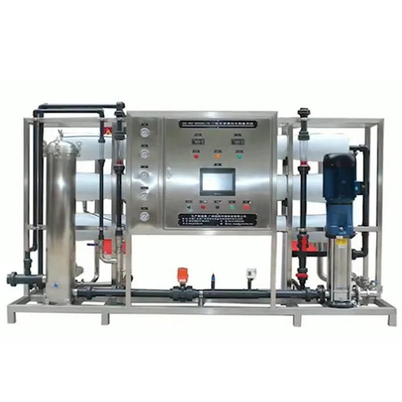 供應粵戴品牌洗衣液、洗發水生產用反滲透純水設備、反滲透設備