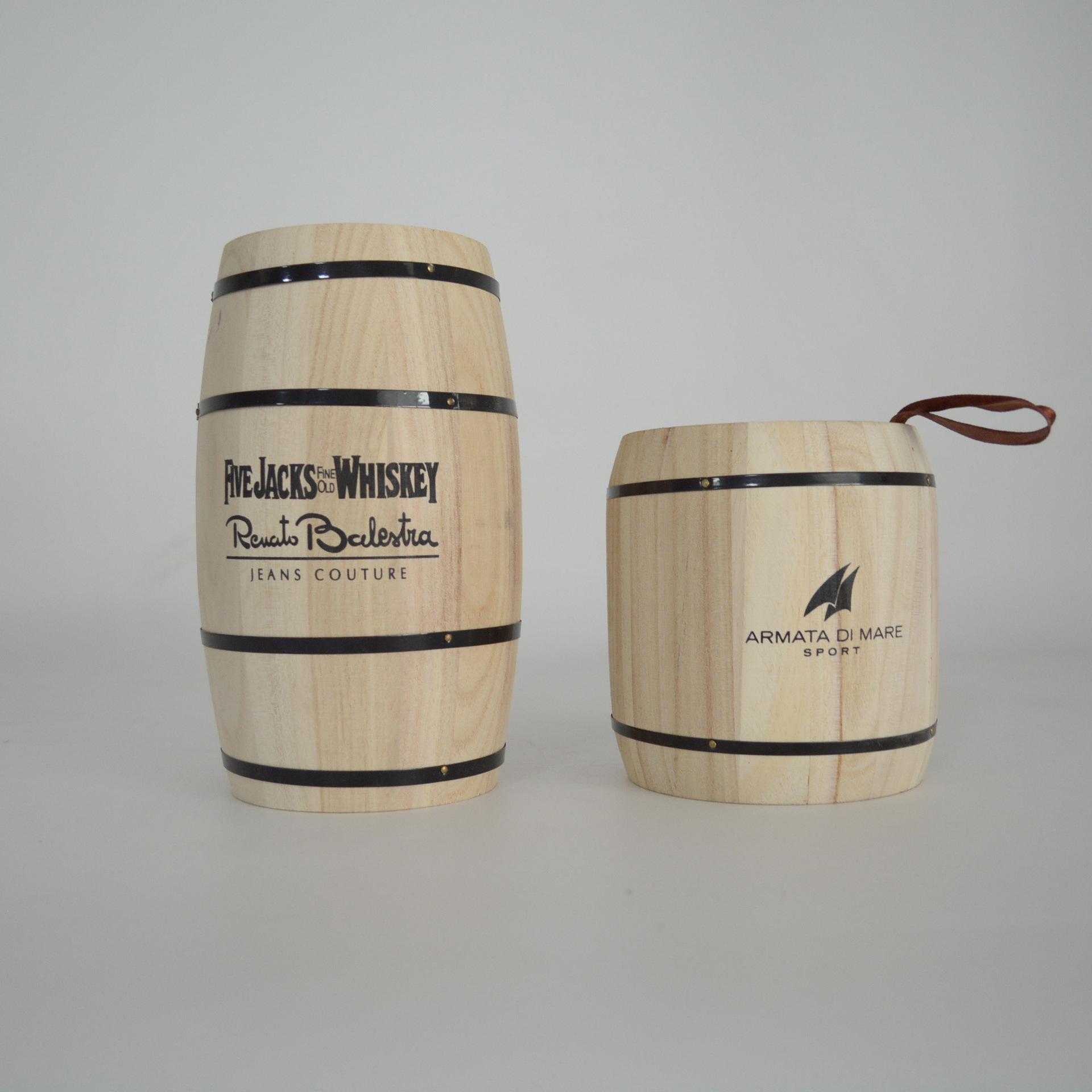 精品推荐仿古普洱包装木桶精品包装木制茶叶桶实木茶叶罐厂家直销
