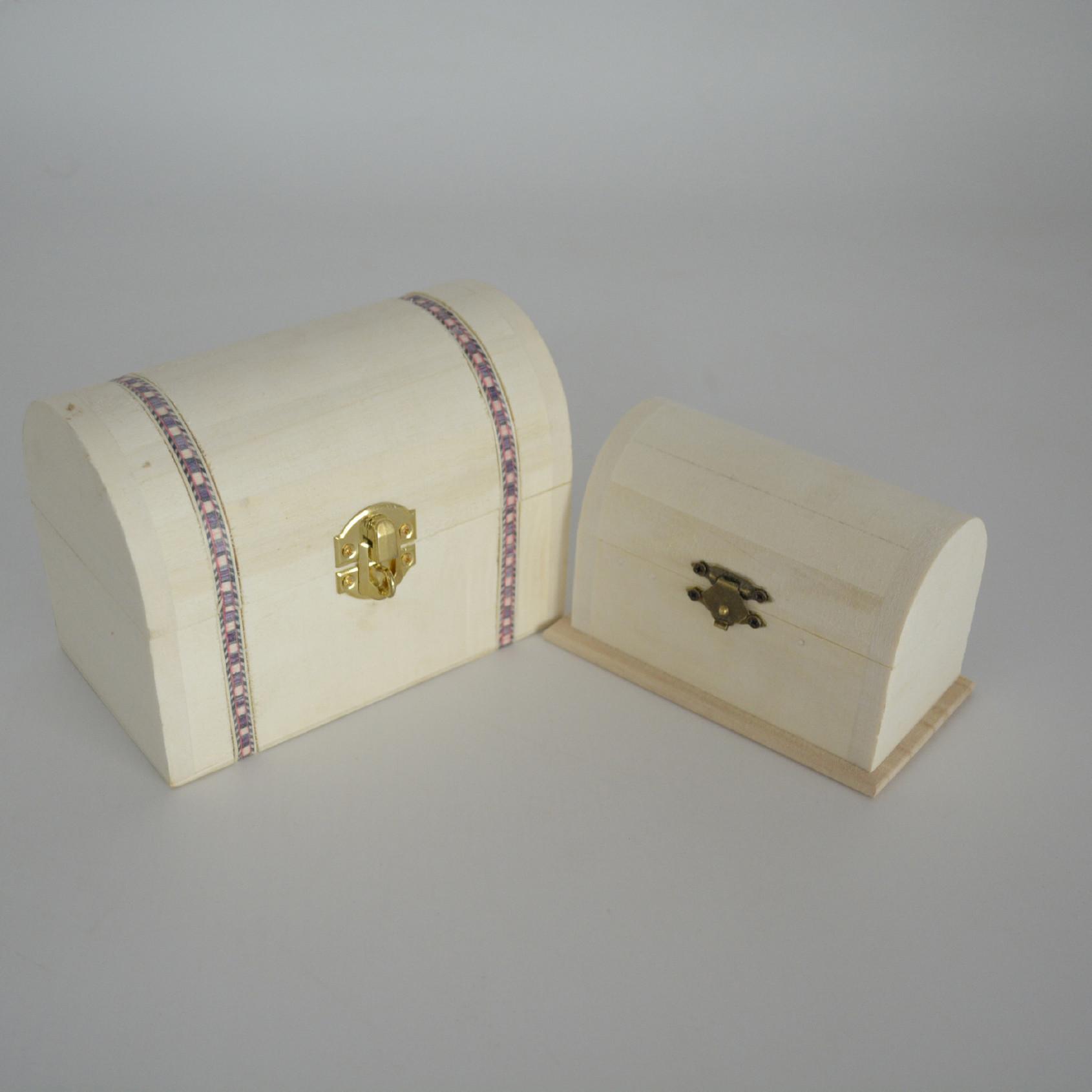 热卖创意复古木制首饰盒 仿古梳妆盒百宝箱 定制工艺品礼品