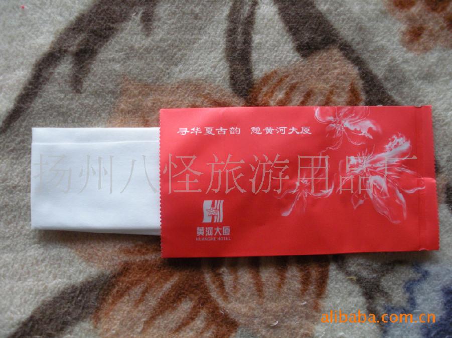 酒店餐厅一次性湿毛巾 湿毛巾 酒店宾馆专用 白方巾示例图30