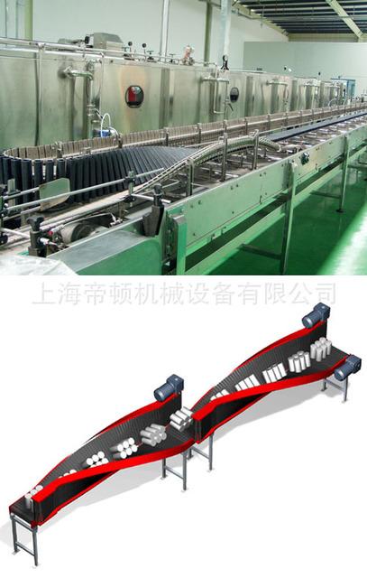 全新供应链板倒瓶翻转输送机 结构紧凑 质量上剩 节能高效