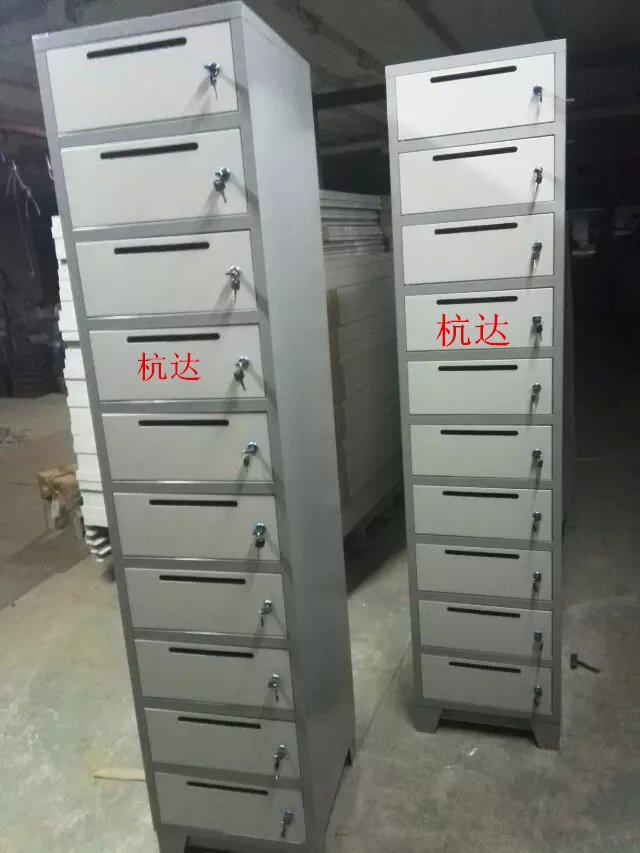 厂家供应定做10门信报箱文件柜铁皮更衣柜 1800高430宽400厚