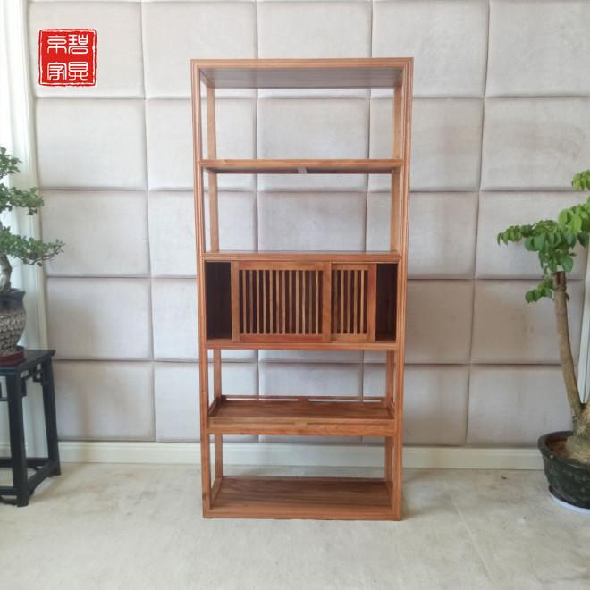 创意现代实木书架自由组合货架客厅隔断陈列展示架时尚置物货柜