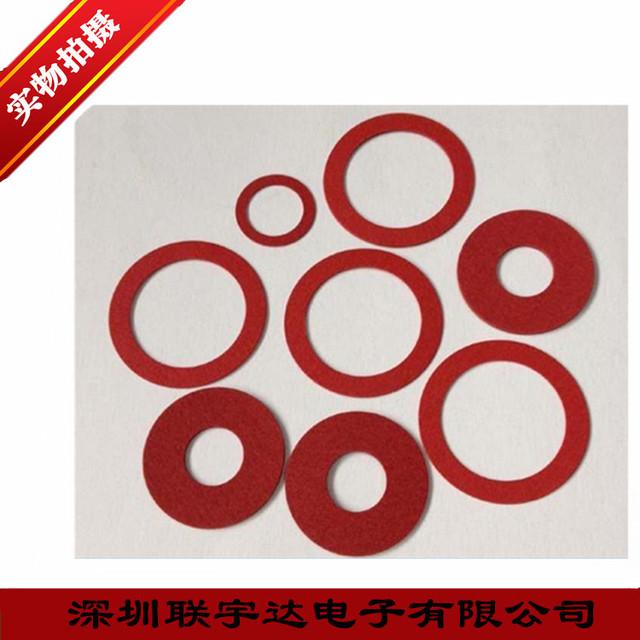 模切加工 電機絕緣墊片,PC麥拉片,新能源電池阻燃片 紅色絕緣紙