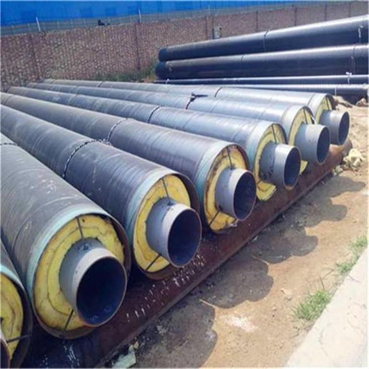 华夏洲际 219   钢套钢地埋保温管 钢套钢保温管道 蒸汽直埋保温管 预制直埋钢套钢保温管