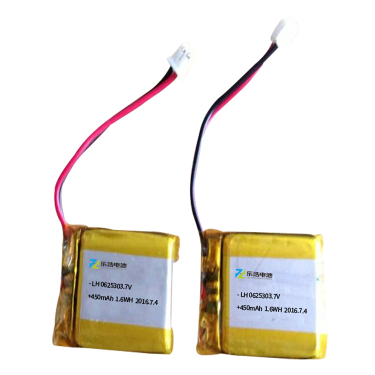 樂浩LP062530工作自行車燈鋰電池
