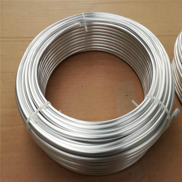 纯铝管1100,1050,1060精密高纯铝管制冷铝盘管示例图1