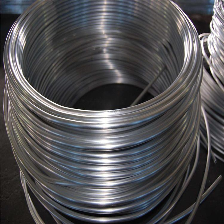 纯铝管1100,1050,1060精密高纯铝管制冷铝盘管示例图5