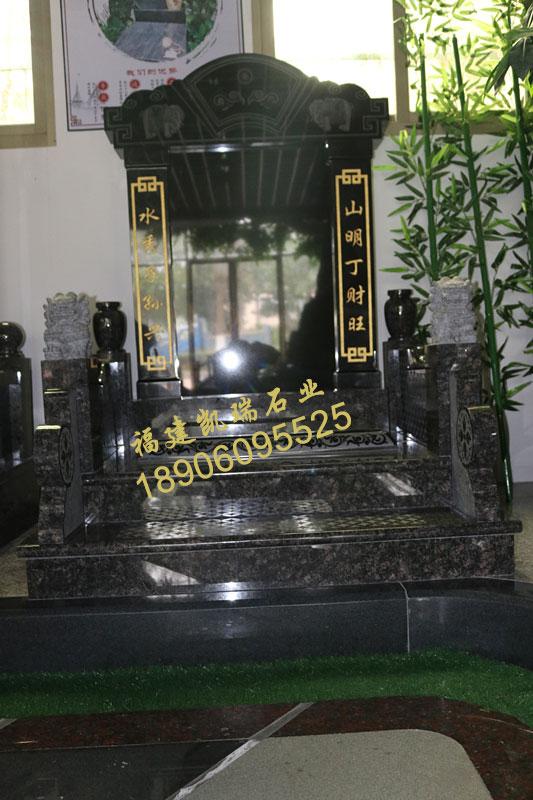 厂家批发福建豪华墓碑英国棕墓碑山西黑碑石可出口内销品质一流示例图2