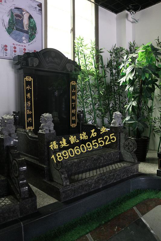 厂家批发福建豪华墓碑英国棕墓碑山西黑碑石可出口内销品质一流示例图10