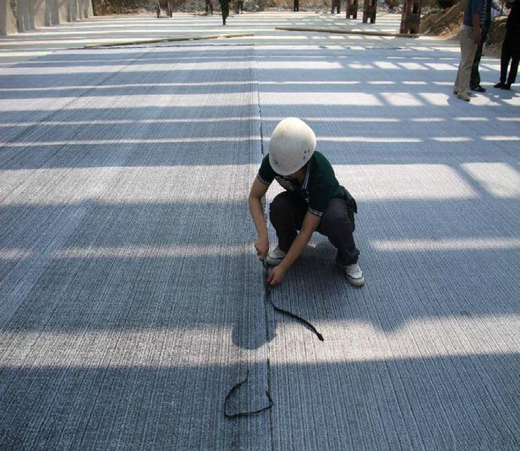 专业供应 天然钠基膨润土防水毯 人工湖垃圾填埋场膨润土防水毯示例图3