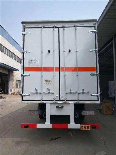 东风9吨腐蚀性物品厢式运输车、东风9吨腐蚀性物品厢式运输车厂家价格示例图3