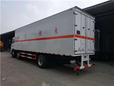 东风9吨腐蚀性物品厢式运输车、东风9吨腐蚀性物品厢式运输车厂家价格示例图4