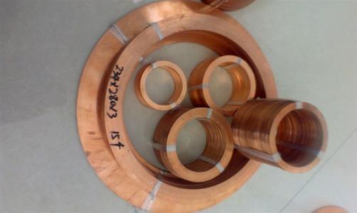 异形紫铜垫加工定制 紫铜垫片生产厂家 压力表用紫铜垫片 船舶专用紫铜垫片示例图3