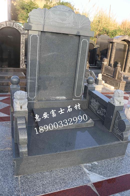 墓碑加工厂福建富士石材专业生产墓碑20年品质保障价格实惠 墓碑厂家直销传统墓碑示例图1