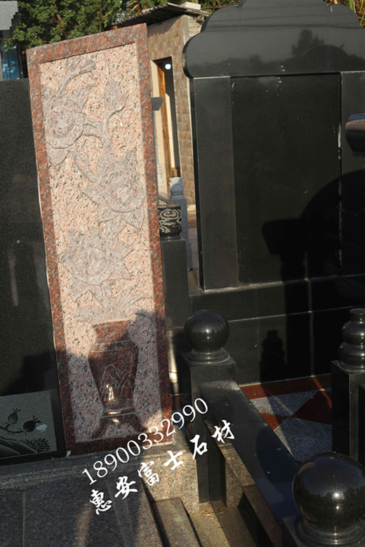 惠安墓碑加工厂供应定制传统墓碑 城市公墓墓碑 新式传统型墓碑示例图3