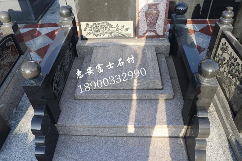 惠安墓碑加工厂供应定制传统墓碑 城市公墓墓碑 新式传统型墓碑示例图8