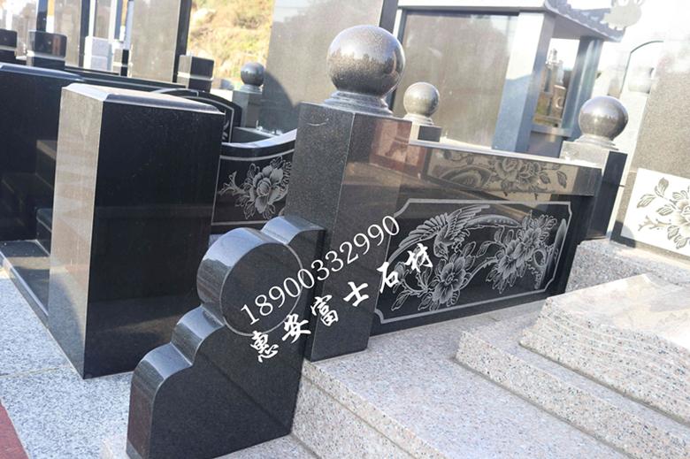惠安墓碑加工厂供应定制传统墓碑 城市公墓墓碑 新式传统型墓碑示例图6