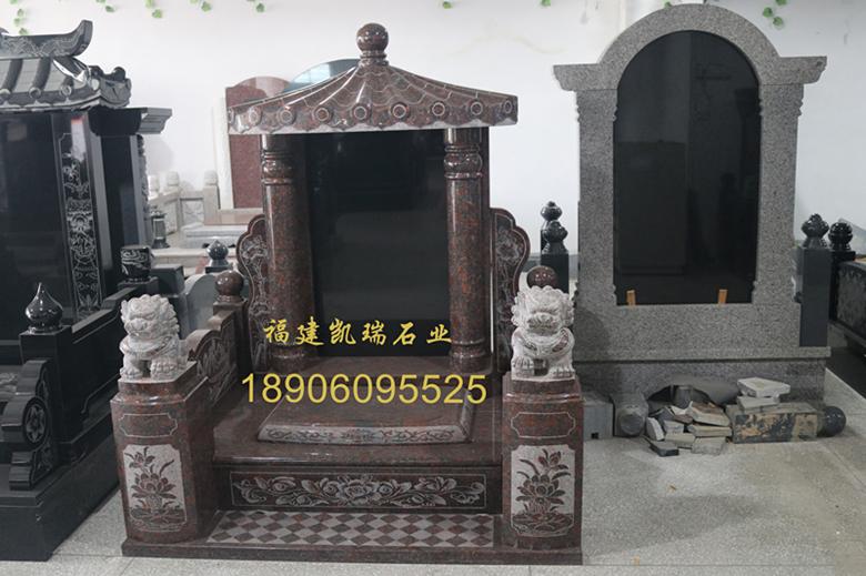 惠安墓碑厂家凯瑞石业直销传统墓碑 墓碑批发直销价格优惠 可支持定制示例图1