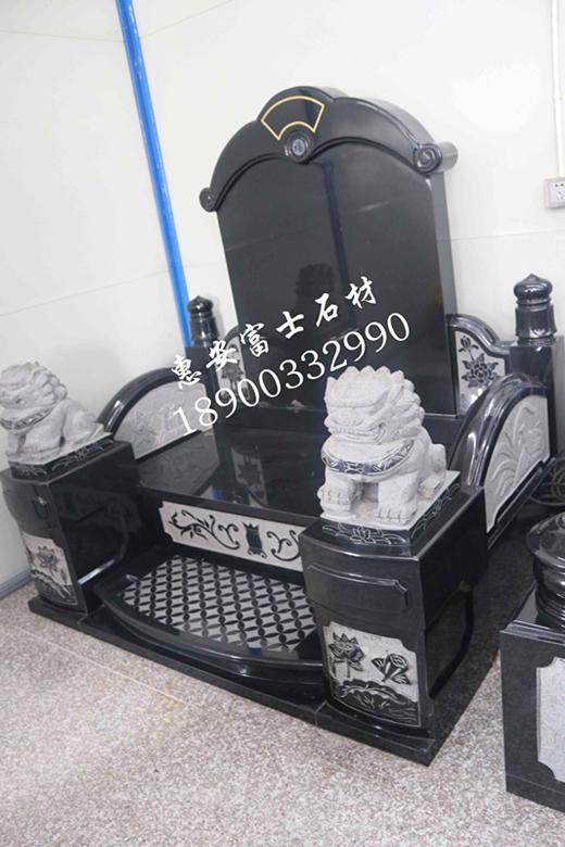 富士石材福建墓碑加工厂FS-082豪华型传统墓碑定制,墓碑厂家直销价格实惠示例图11